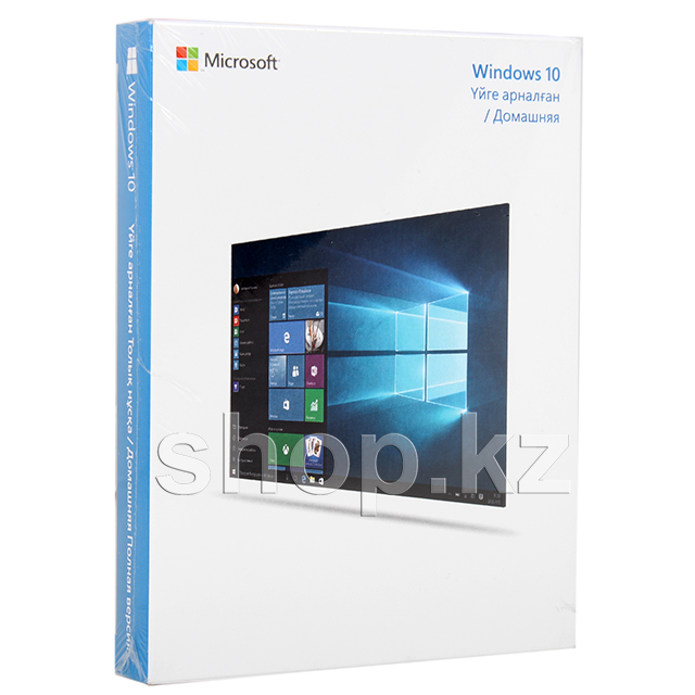 Microsoft Windows 10 Home, 32-bit/64-bit, USB, BOX