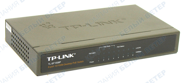 Switch  8 port TP-Link TL-SF1008P