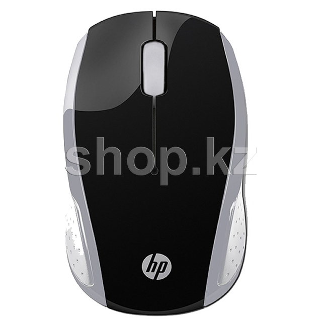Мышь HP 200, Pike Silver, USB