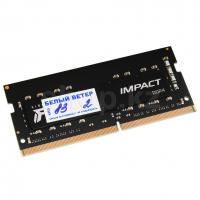 SO-DIMM 8Gb DDR4 PC25600/3200Mhz Kingston Fury Impact, BOX (KF432S20IB/8)