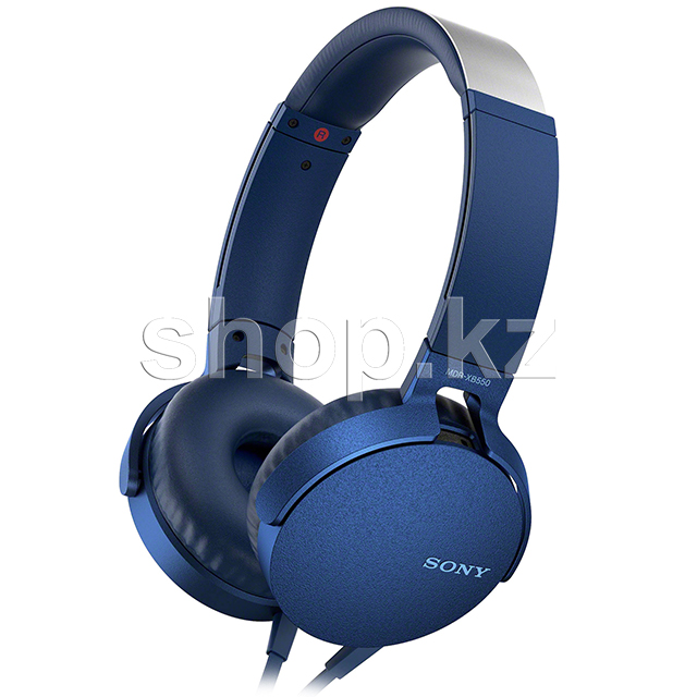 Гарнитура Sony MDR-XB550AP Extra Bass, Blue