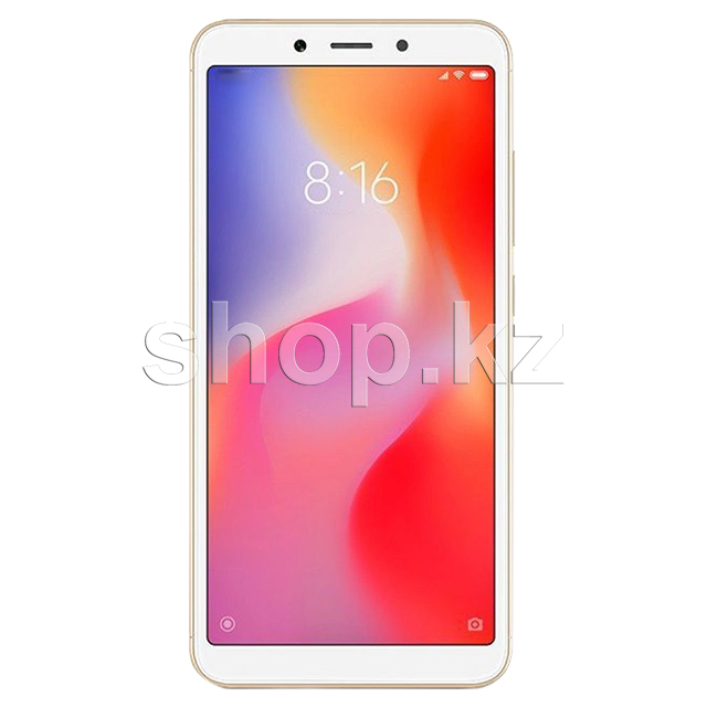 Смартфон Xiaomi Redmi 6, 64Gb, Gold