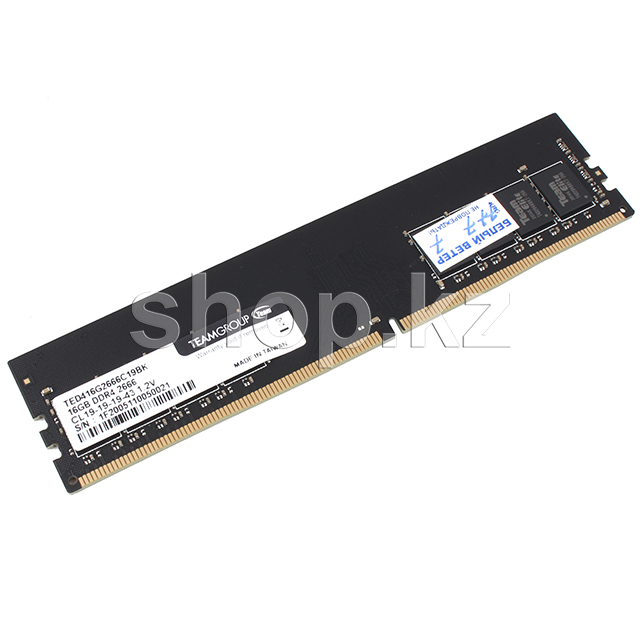 DDR-4 DIMM 16Gb/2666MHz PC21300 Team Group, BOX