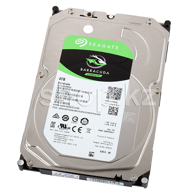 "Жесткий диск HDD 4000 Gb Seagate Barracuda (ST4000DM004), 3.5"", 256Mb, SATA III"