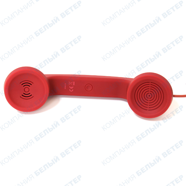 Гарнитура Native Union Retro Pop Phone, Red