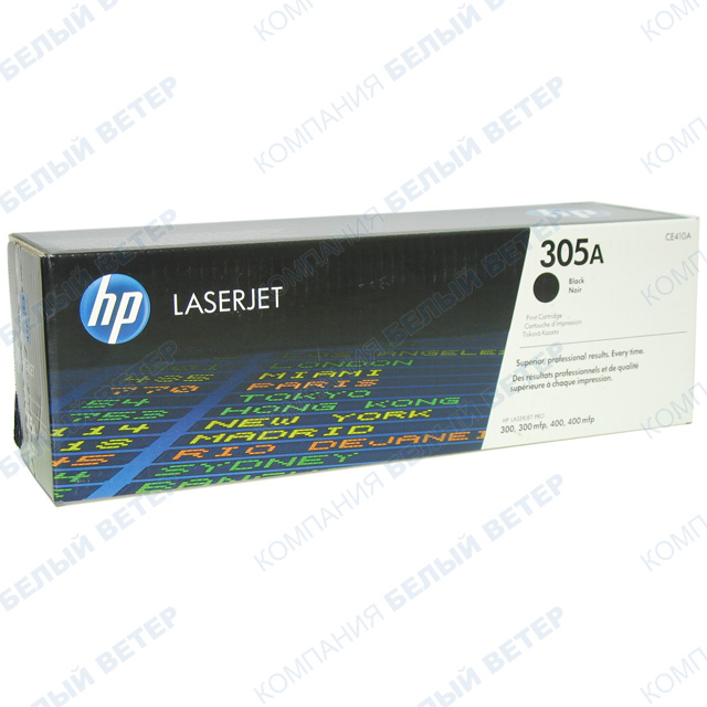 Картридж HP CE410A - Black
