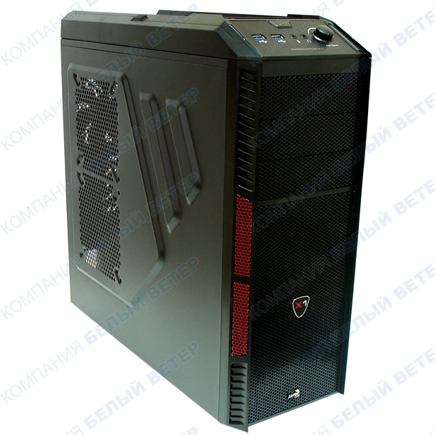 Корпус AeroCool XPredator X1 Devil Red Edition